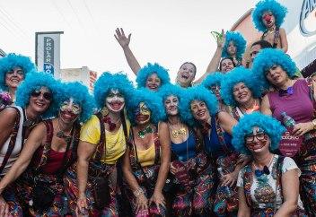 Carnaval Bloco Jardineira. Grupo Amigas Cabelo Azul. Taquaritinga 27Fev17 (1 de 1)