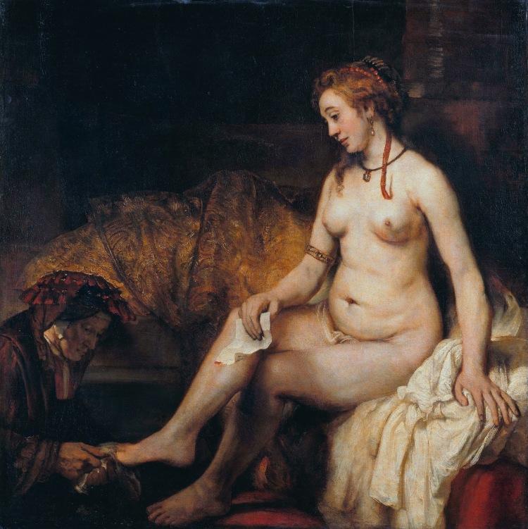 Bathsheba_at _her_Bath_Rembrandt