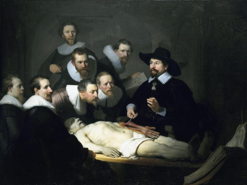 The_Anatomy_Lesson Rembrandt