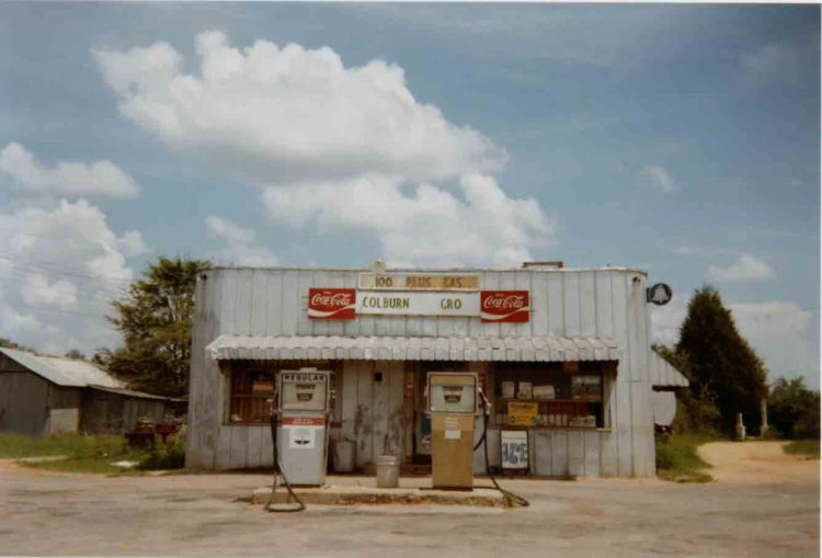 William Christenberry (1977) Uniontown, Alabama